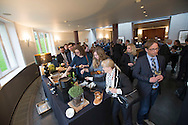 Lunch at the conference:  Digital work environment – opportunities and challenges for companies and workforce, at Bibliotheque Solvay in Brussels 27 Januar 2016. Arranged by Daimler AG, BDA - Confederation of German Employers Associations. Photo: Erik Luntang