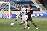15 December 2013: Notre Dame's Harrison Shipp (10) and Maryland's Tsubasa Endoh (JPN) (31). The University of Maryland Terripans played the University of Notre Dame Fighting Irish at PPL Park in Chester, Pennsylvania in a 2013 NCAA Division I Men's College Cup championship match. Notre Dame won the game 2-1.