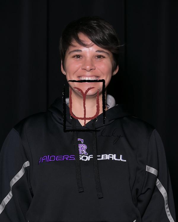 Cedar Ridge varsity softball coach, Jessica Poole.  (LOURDES M SHOAF For Round Rock Leader.)