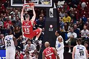 Kaleb Tarczewski<br /> Milano - Trento<br /> Lega Basket Serie A 2016/2017<br /> Milano 02/04/2017<br /> Foto Ciamillo-Castoria / GiulioCiamillo