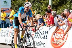 09.07.2016, Wien, AUT, Ö-Tour, Österreich Radrundfahrt, 7. Etappe, Bad Tatzmannsdorf nach Wien/Kahlenberg, im Bild 2. Platz Markus Eibegger (AUT, Team Felbermayr Simplon Wels) // 2nd placed Markus Eibegger (AUT Team Felbermayr Simplon Wels) during the Tour of Austria, 7th Stage from Bad Tatzmannsdorf to Vienna/Kahlenberg Wien, Austria on 2016/07/09. EXPA Pictures © 2016, PhotoCredit: EXPA/ JFK