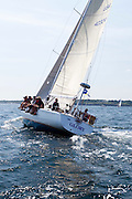 Glory sailing at the start of the 2010 Newport Bermuda Race in Newport, Rhode Island.