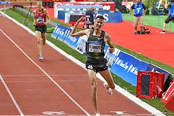 July 20, 2018 - Monaco - 3000m Steeplechase hommes - Soufiane Zl Bakkali  (Credit Image: © Panoramic via ZUMA Press)