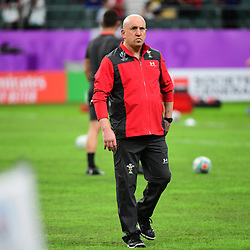 Wales defence coach Shaun EDWARDS during the Rugby World Cup 2019 Quarter Final match between Wales and France on October 20, 2019 in Oita, Japan. (Photo by Dave Winter/Icon Sport) - Oita Stadium - Oita (Japon)
