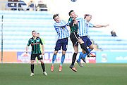 James Maddison, Matty Lund, Joe Cole during the Sky Bet League 1 match between Coventry City and Rochdale at the Ricoh Arena, Coventry, England on 5 March 2016. Photo by Daniel Youngs.