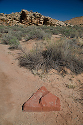 Home Plate near Wolfe Ranch, Arches National Park, Utah, US