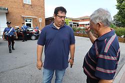 NICOLA MINARELLI<br /> TRENO DERAGLIATO IN STAZIONE A PORTOMAGGIORE VISTO DAL DRONE