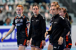 08-12-2019 JAP: Netherlands - Germany, Kumamoto<br /> First match Main Round Group1 at 24th IHF Women's Handball World Championship, Netherlands lost the first match against Germany with 23-25. / Inger Smits #20 of Netherlands