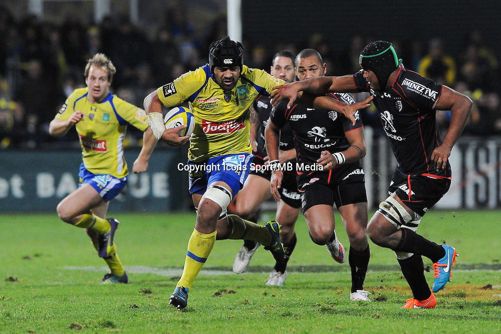 Fritz LEE - 04.01.2015 -  Clermont / Toulouse - 15eme journee de Top 14 - <br />