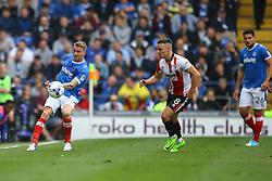 Carl Baker of Portsmouth in action - Mandatory by-line: Jason Brown/JMP - 06/05/2017 - FOOTBALL - Fratton Park - Portsmouth, England - Portsmouth v Cheltenham Town - Sky Bet League Two