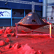 Turin, Italy - March 14, 2016: Demonstration by the ESA ExoMars Rover vehicle