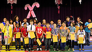 Sagamore Hills Elementary School 5th Grade classes receive their winter awards on Friday, Dec. 20, 2013 in Atlanta.  (David Tulis/dtulis@gmail.com)