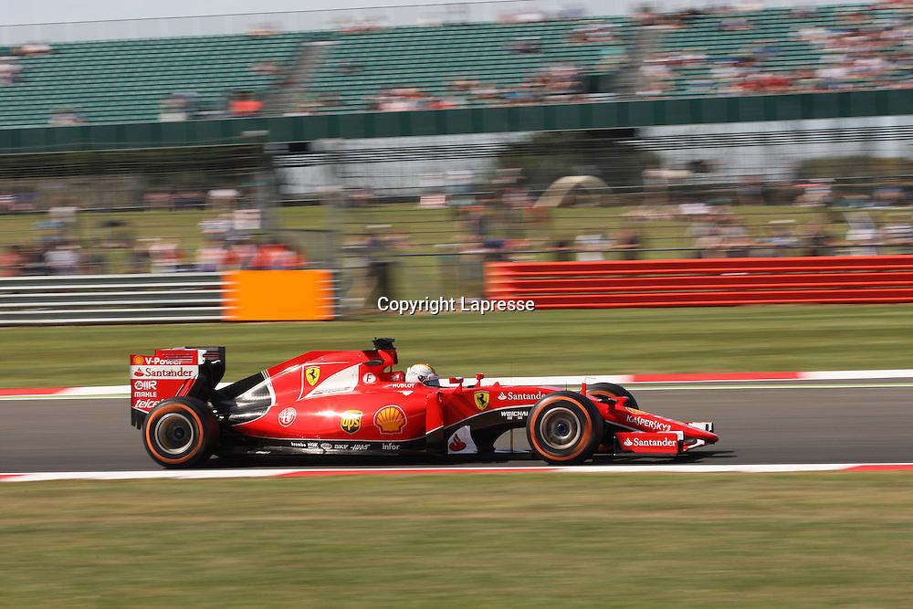 &copy; Photo4 / LaPresse<br /> 03/07/2015 Silverstone, England<br /> Sport <br /> Grand Prix Formula One England 2015<br /> In the pic: Sebastian Vettel (GER) Scuderia Ferrari SF15-T
