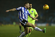 Sheffield Wednesday defender Tom Lees (15) during the Sky Bet Championship match between Sheffield Wednesday and Brighton and Hove Albion at Hillsborough, Sheffield, England on 3 November 2015.