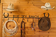 Exterior and interior photography of Blue Sky Ranch in Fayetteville, Arkansas, for a magazine feature.