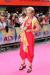 © Licensed to London News Pictures. 11/06/2014, UK. Emma Thompson, Walking On Sunshine - World Film Premiere, Vue West End Leicester Square, London UK, 11 June 2014. Photo credit : Richard Goldschmidt/Piqtured/LNP