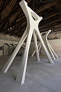 "Venice, Italy. 14th Architecture Biennale 2014, ""fundamentals"".<br /> Arsenale. Kuwait exhibition. ""Acquiring Modernity""."