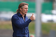 Wycombe Wanderers Manager Gareth Ainsworth during the Sky Bet League 2 match between Barnet and Wycombe Wanderers at The Hive Stadium, London, England on 15 August 2015. Photo by Bennett Dean.