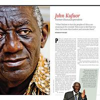 John Kufuor former Ghanaian President