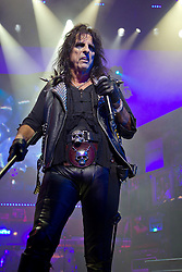 2012© Licensed to London News Pictures. 14/08/2012. Shaftsbury Theatre, London, UK. Alice Cooper performing at a Special performace of the West End Musical Rock Of Ages at the Shaftsbury Theatre London, on the 14th Aug 2012. Photo credit : Richard Hurn / LNP.