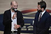 Maurizio Buscaglia<br /> Presentazione Campionato Lega Basket 2016-2017<br /> Basket Serie A  2016<br /> Milano 26/09/2016<br /> Foto Ciamillo-Castoria