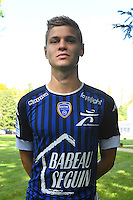 Alois Confais during the photocall of Troyes Estac for season of ligue 2 on September 3rd 2016 in Troyes<br /> Photo : Philippe Le Brech / Icon Sport