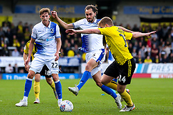 Edward Upson of Bristol Rovers takes on Damien McCrory of Burton Albion - Mandatory by-line: Robbie Stephenson/JMP - 13/10/2018 - FOOTBALL - Pirelli Stadium - Burton upon Trent, England - Burton Albion v Bristol Rovers - Sky Bet League One