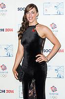 Jenna McCorkell, British Olympic Ball, Dorchester (Opal Room), London UK, 30 October 2013, Photo by Raimondas Kazenas