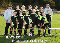 Inter Lakes Youth Soccer League Meredith Rotary Team October 15, 2011.