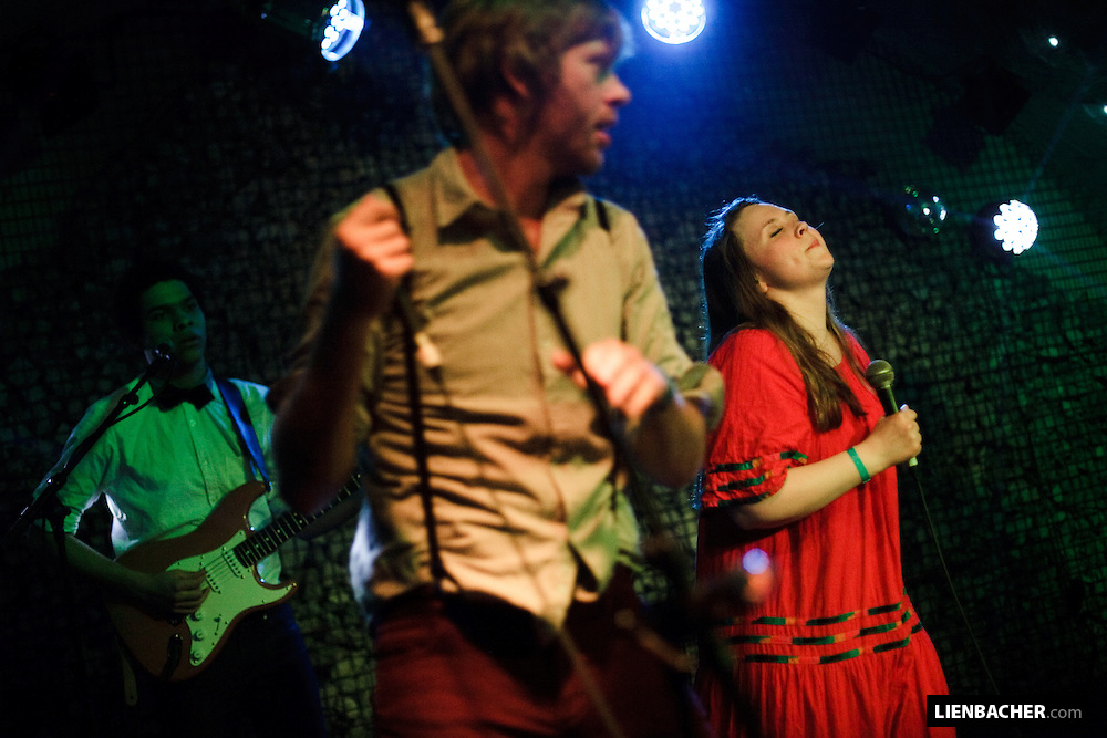 FM Belfast performing in the Rockhouse Salzburg. Photo: Wolfgang Lienbacher