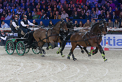 Sandmann Christoph (GER)<br /> FEI World Cup Driving<br /> Flanders Christmas Jumping - Mechelen 2012<br /> © Dirk Caremans