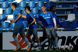 September 14, 2017 - Reggio Emilia, Italy - Wayne Rooney of Everton during the warm up  during the UEFA Europa League Group E football match Atalanta vs Everton at The Stadio Città del Tricolore in Reggio Emilia on September 14, 2017. (Credit Image: © Matteo Ciambelli/NurPhoto via ZUMA Press)