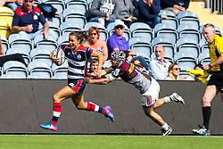 Jaz Joyce of Bristol Ladies in action - Rogan Thomson/JMP - 23/04/2017 - RUGBY UNION - Sixways Stadium - Worcester, England - Bristol Ladies Rugby v Aylesford Bulls - Women's Premiership Final.