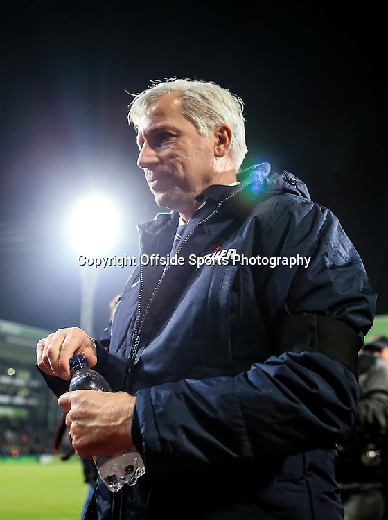 10 January 2015 - Barclays Premier League - Crystal Palace v Tottenham Hotspur -Alan Pardew manager of Crystal Palace - Photo: Marc Atkins / Offside.