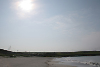 Evening sunlight, beach on the Aran Islands County Galway Ireland