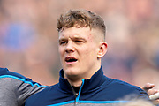 Darcy Graham (#11) of Scotland before the Guinness Six Nations match between Scotland and Wales at BT Murrayfield Stadium, Edinburgh, Scotland on 9 March 2019.