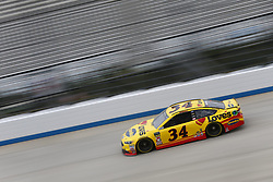 October 5, 2018 - Dover, Delaware, United States of America - Michael McDowell (34)  takes to the track to practice for the Gander Outdoors 400 at Dover International Speedway in Dover, Delaware. (Credit Image: © Justin R. Noe Asp Inc/ASP via ZUMA Wire)