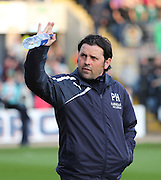 Dundee manager Paul Hartley - Dundee v Celtic - SPFL Premiership at Dens Park<br /> <br /> <br />  - &copy; David Young - www.davidyoungphoto.co.uk - email: davidyoungphoto@gmail.com