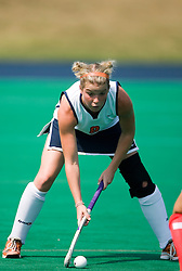 Virginia Cavaliers M/B Abby Taylor (8)..The Virginia Cavaliers field hockey team fell to the Boston University Terriers 3-0 at the University Hall Turf Field in Charlottesville, VA on September 23, 2007
