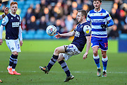 Millwall midfielder Shane Ferguson (11) during the EFL Sky Bet Championship match between Millwall and Reading at The Den, London, England on 18 January 2020.