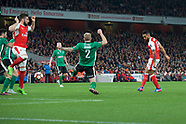 Arsenal v Lincoln City 110317