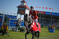 Madden Beezie (USA) - Judgement<br /> Farewell of Judgement from the sport<br /> Spruce Meadows Masters - Calgary 2009<br /> © Dirk Caremans