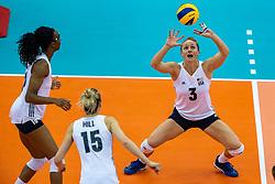 14-10-2018 JPN: World Championship Volleyball Women day 15, Nagoya<br /> China - United States of America 3-2 / Carli Lloyd #3 of USA