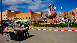 Street scene in El Kelaa Des M'Gouna, the rose capital of Morocco<br /> <br /> (c) Andrew Wilson | Edinburgh Elite media
