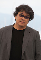 Director Bong Joon-Ho at Parasite film photo call at the 72nd Cannes Film Festival, Wednesday 22nd May 2019, Cannes, France. Photo credit: Doreen Kennedy