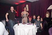 TIM DEWBERRY; OONA CHAPLIN;  JILL WINTERNETZ; MIKE DOXFORD; , Proud Cabaret launch. Mark Lane. London. EC3. 3 November 2009