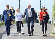 Liberal Democrats Annual Conference, Bournemouth International Centre, Bournemouth, Great Britain <br /> 19th September 2017 <br /> <br /> Vince Cable MP Leader of the Liberal Democrats arrives at the conference centre ahead of his leaders' speech. <br /> <br /> <br /> <br /> <br /> Photograph by Elliott Franks <br /> Image licensed to Elliott Franks Photography Services