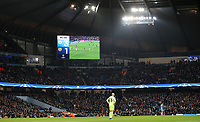 Football - 2016 / 2017 UEFA Champions League - Group C: Manchester City vs. Barcelona<br /> <br /> Scoreboard at the final whistle of the match at The Etihad Stadium.<br /> <br /> COLORSPORT/LYNNE CAMERON