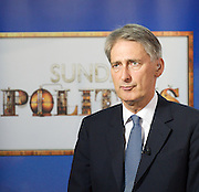 Conservative Party Conference, ICC, Birmingham, Great Britain <br /> Day 1<br /> 7th October 2012 <br /> <br /> Philip Hammond MP <br /> Defence Secretary <br /> Sunday Politics interview <br /> <br /> <br /> <br /> Photograph by Elliott Franks<br /> <br /> Tel 07802 537 220 <br /> elliott@elliottfranks.com<br /> <br /> ©2012 Elliott Franks<br /> Agency space rates apply