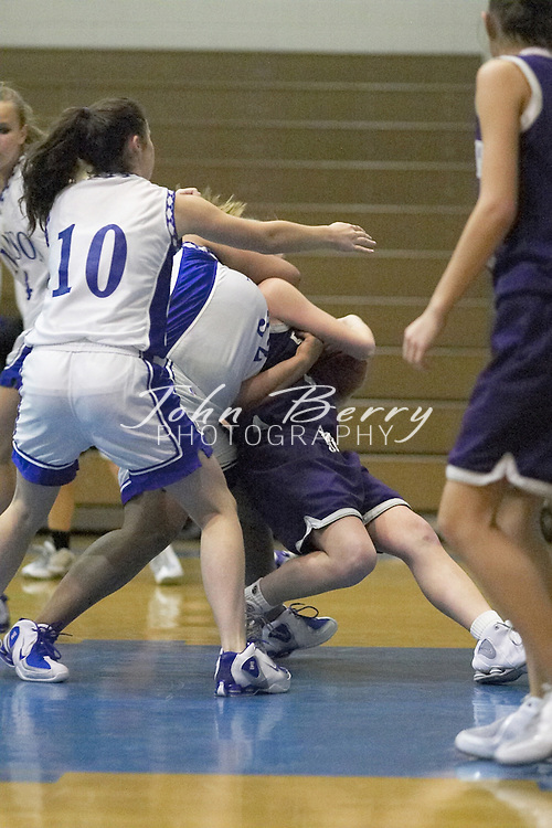 MCHS JV Girls Basketball..vs Strasburg..Second Period..December 17, 2004
